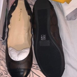Coach woman's flats shoes